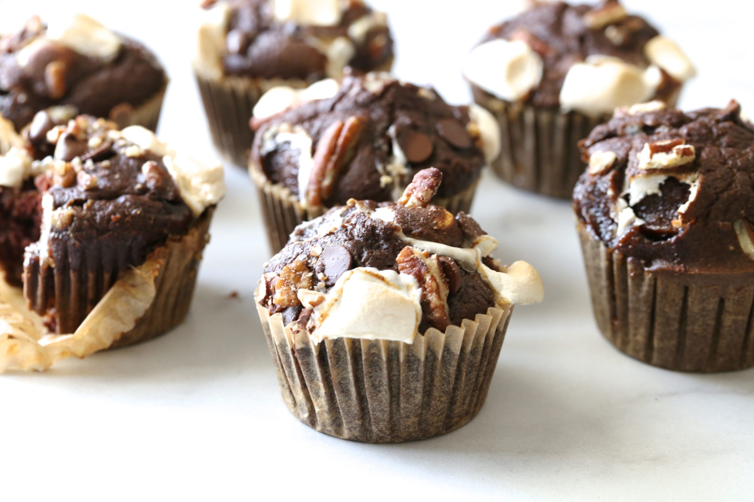 Grain Free Rocky Road Muffins