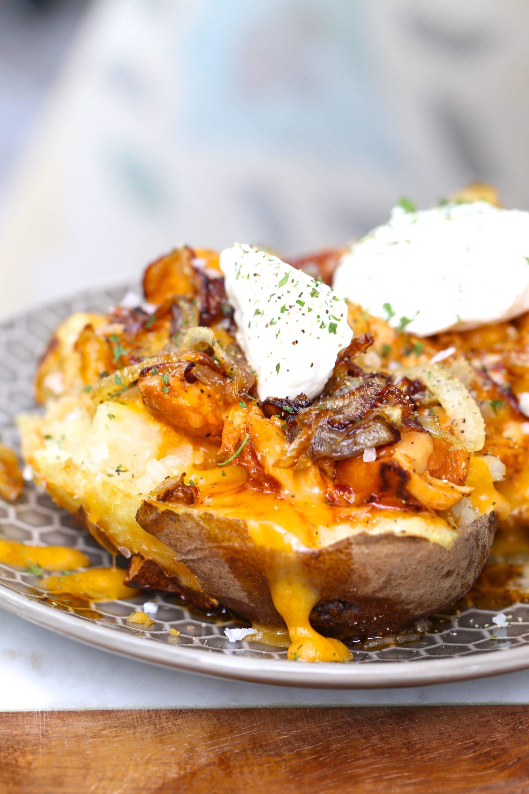Two Step Perfect Baked Potatoes