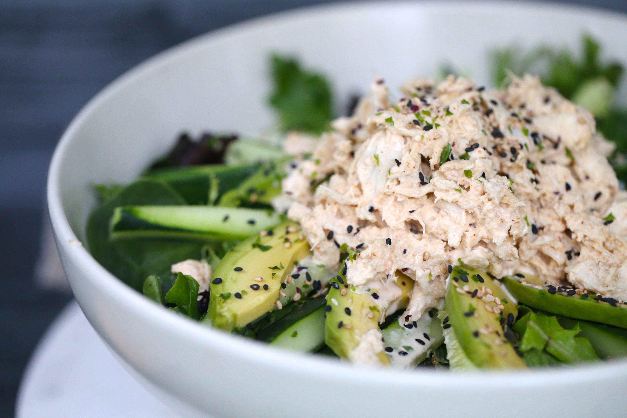Keto Spicy Crab Roll Salad