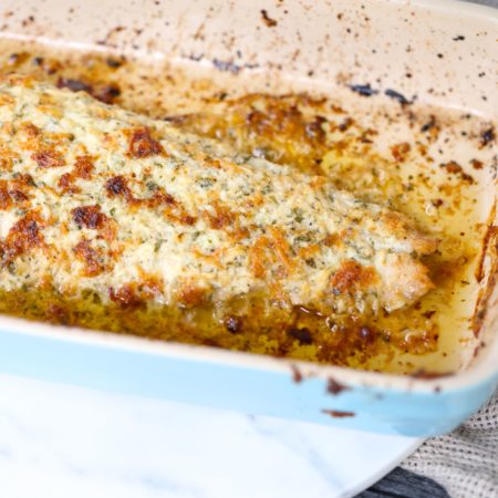 Garlic Parmesan Mahi Mahi