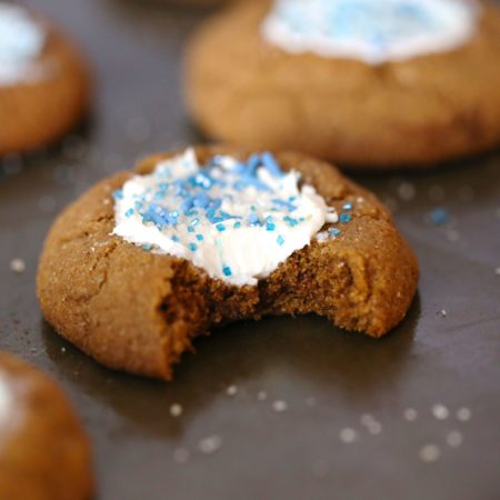 Grain Free Snow Globe Cookies