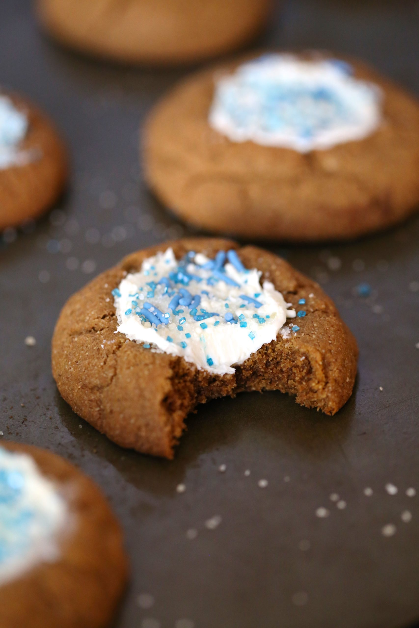 Grain Free Snow Globe Cookies