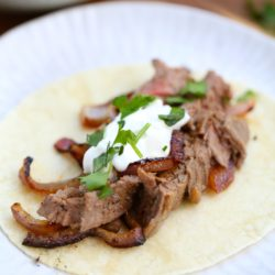 Best 5 Minute Beef Fajitas