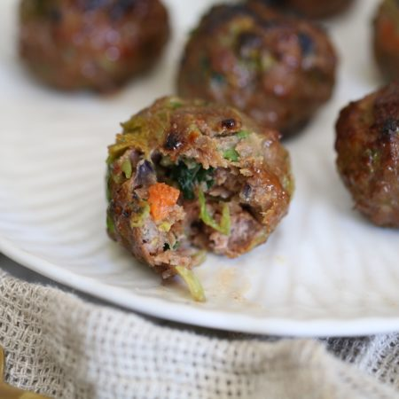 Air Fryer Teriyaki Stir Fry Meatballs