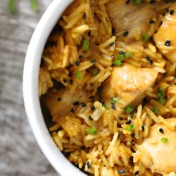 Gluten Free Instant Pot Teriyaki Chicken and Rice