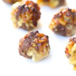 Air Fryer Grain Free French Onion Meatballs