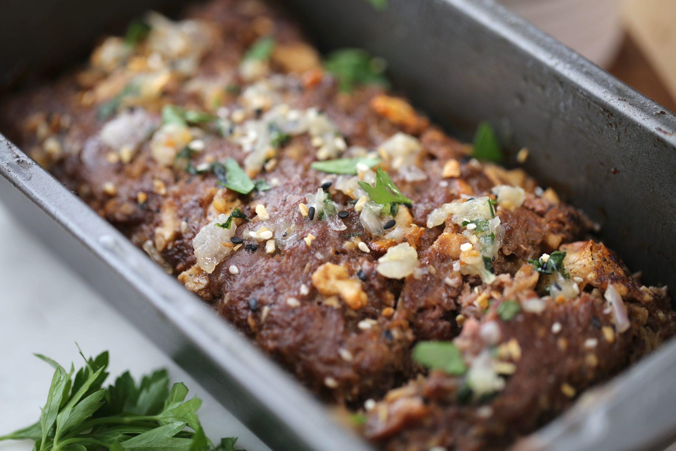 Paleo Everything Seasoned Meatloaf